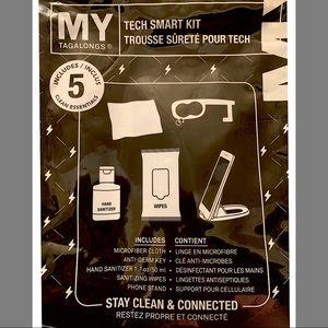 5 PIECE SANITIZING TECH KIT STAY SAFE!